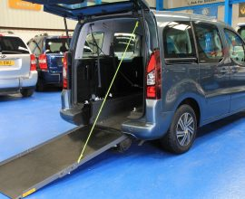 Citroen Berlingo Wheelchair adapted car dxz5053