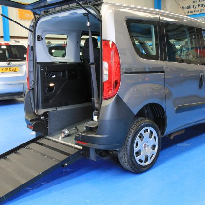 New Shape doblo Wheelchair accessible vehicle yy65tnj