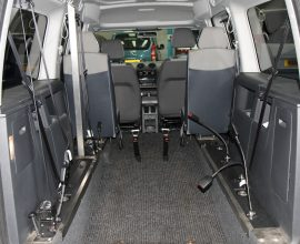 Caddy Full Length Lowered floor Auto
