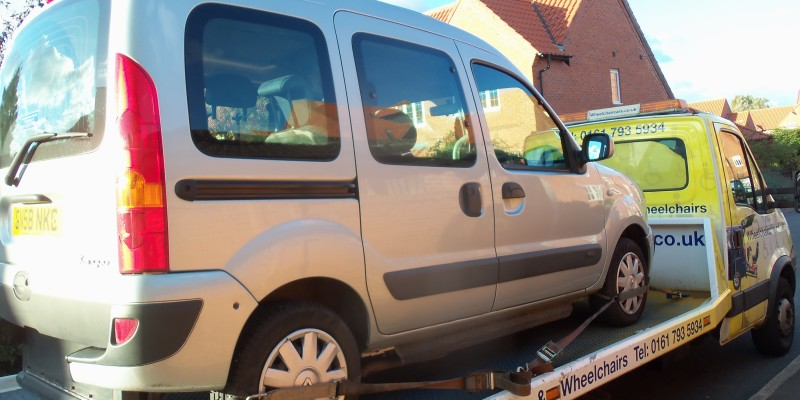 disabled car sleaford