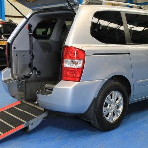 Kia sedona Auto Wheelchair car yj11dbu