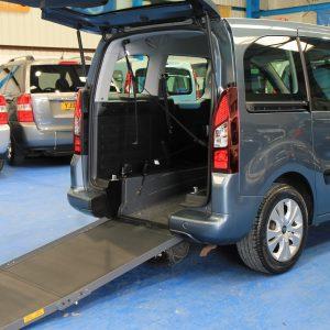Berlingo Wheelchair access vehicle aig3507