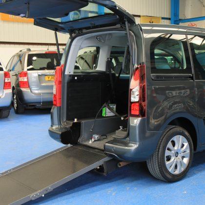 Berlingo Wheelchair adapted vehicle sm63