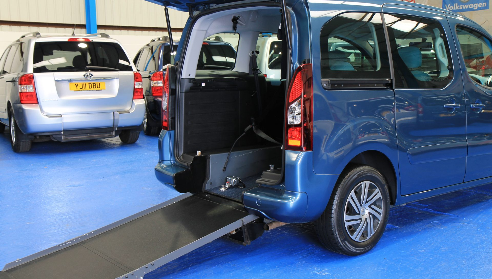 Wheelchair Accessible Vehicles: Berlingo Wheelchair Accessible Car Sn64voo