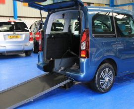 Berlingo Wheelchair accessible car sn64voo