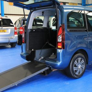 Berlingo Wheelchair accessible car sn64voo