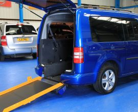 Caddy Wheelchair accessible vehicle bxz86