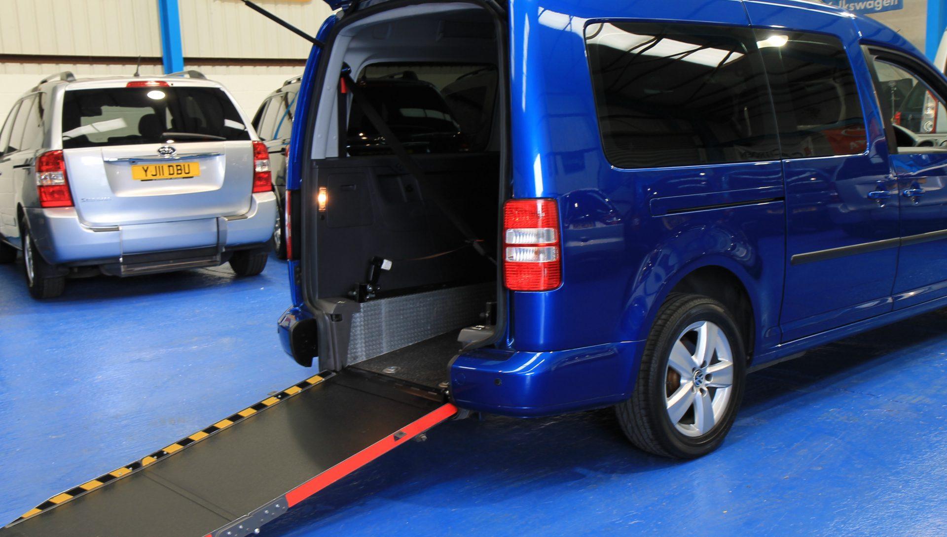 Caddy Wheelchair accessible vehicle exz31
