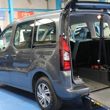 Berlingo Wheelchair accessible vehicles 2015