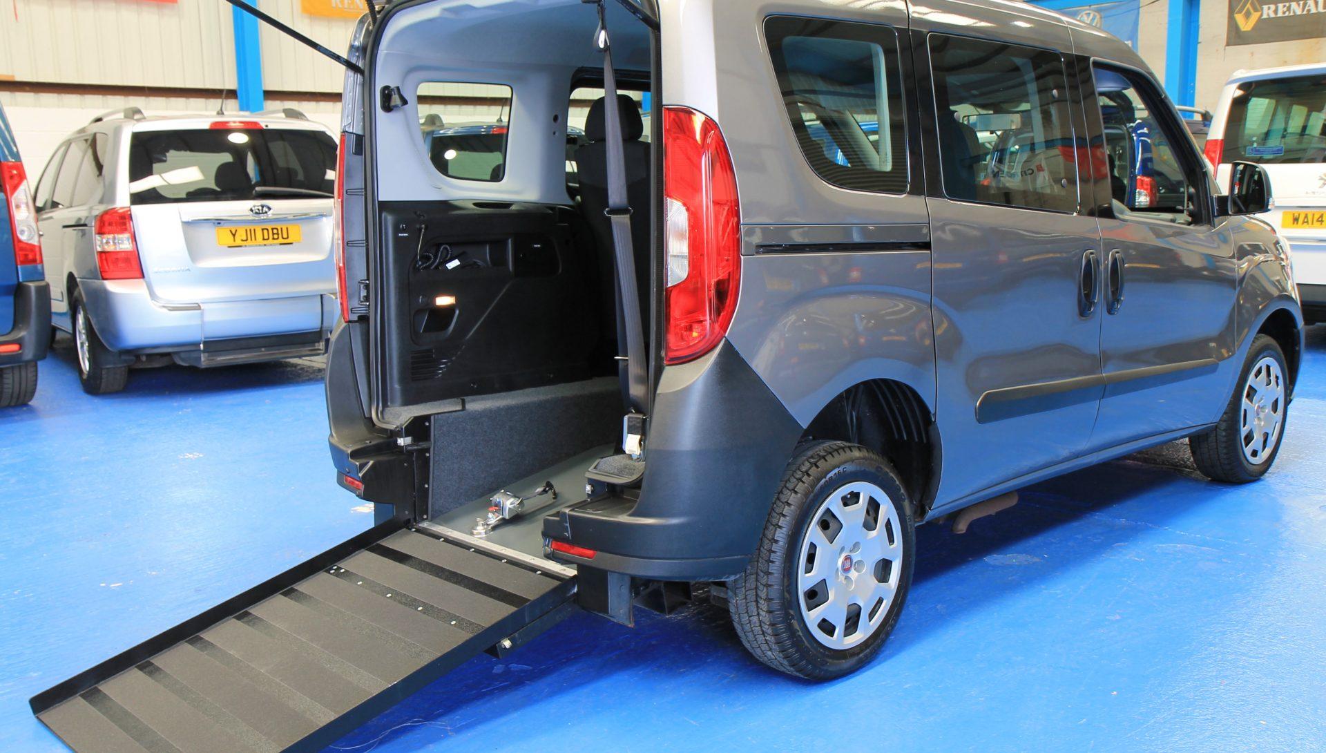 New Shape doblo Wheelchair accessible vehicle yy65tnj