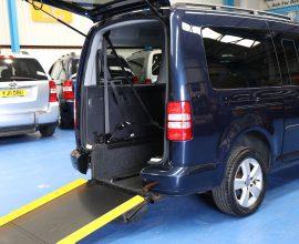 Caddy Full Length Lowered floor Auto