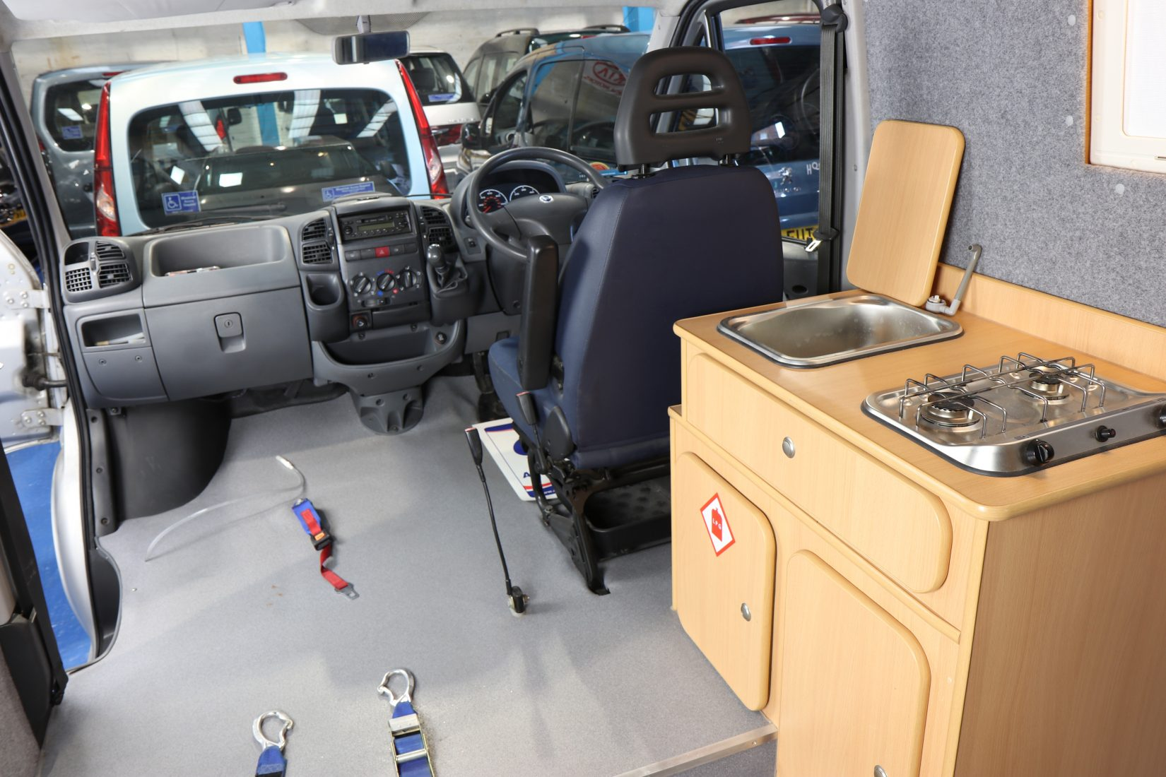 Wheelchair Lift For Car >> Day Van with toilet, sink, hob, wheelchair lift | Wheelchair Cars Ltd