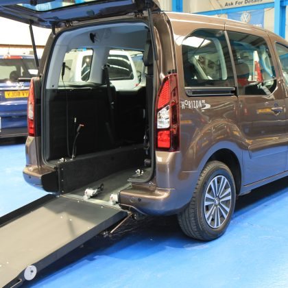 Petrol wheelchair accessible car sd63