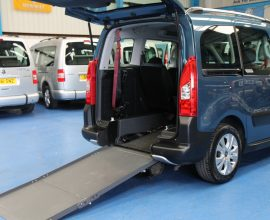 Berlingo Wheelchair access car yjz5340