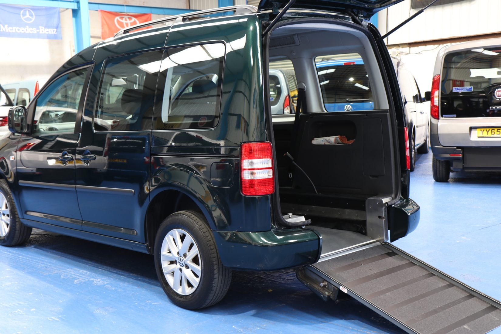 Wheelchair Accessible Vehicles: Caddy Wheelchair Accessible Vehicle Hf12