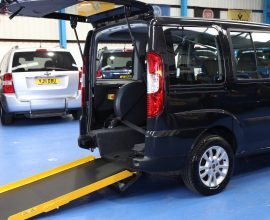 Doblo Wheelchair accessible vehicle nk60