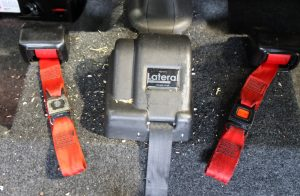 damaged wheelchair straps
