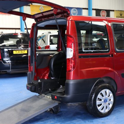 Doblo Wheelchair accessible cars sp10