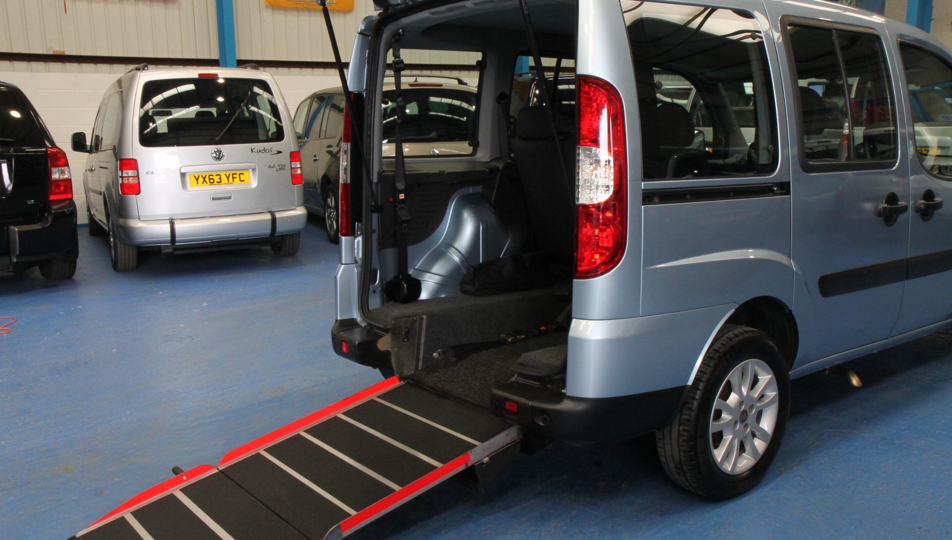 Doblo Wheelchair accessible vehicle yn08