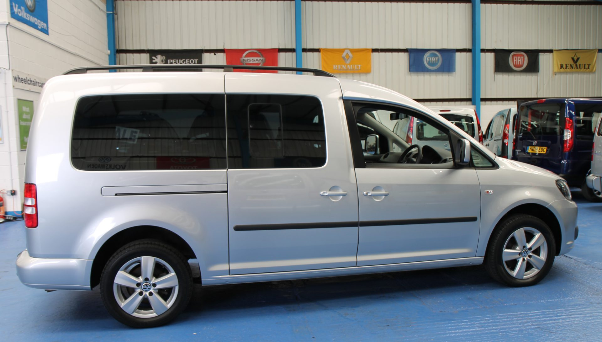 Vw Caddy wheelchair accessible sj60