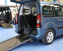 Berlingo Wheelchair access cars exz8548
