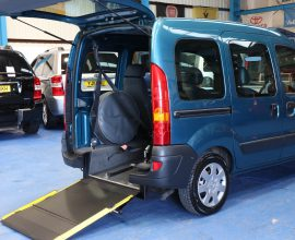 Kangoo Wheelchair accessible cars rx07