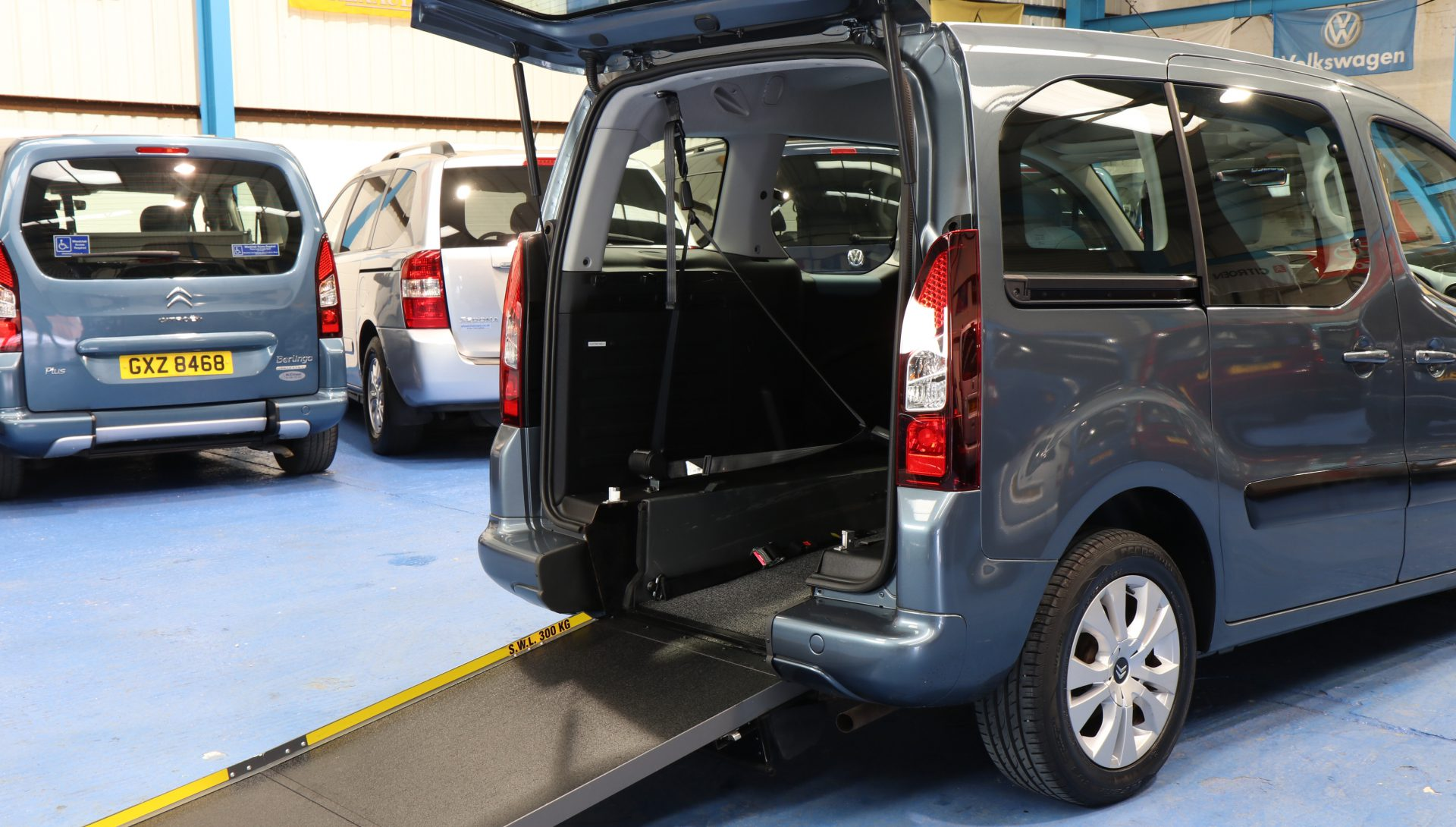 Berlingo Wheelchair accessible car wa13egk