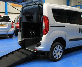 Doblo Wheelchair accessible car yx15