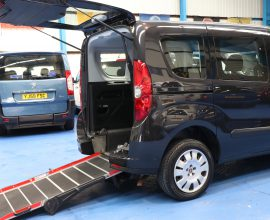 Doblo Wheelchair accessible car yy13