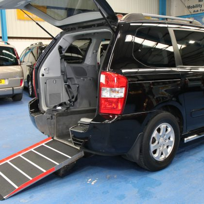Kia sedona Auto Wheelchair car yj59oes