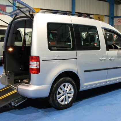 Caddy disabled Transfer to drive car bx13