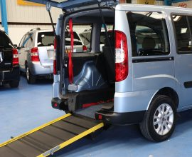 Doblo Wheelchair accessible car yn60