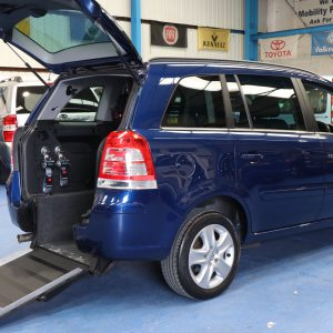 Vauxhall Zafira petrol Auto wheelchair car