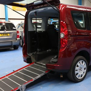 Doblo Wheelchair accessible car vu13