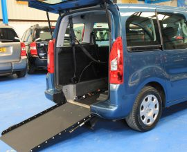Peugeot Wheelchair accessible cars gx12