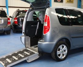 Skoda Romster wheelchair access car