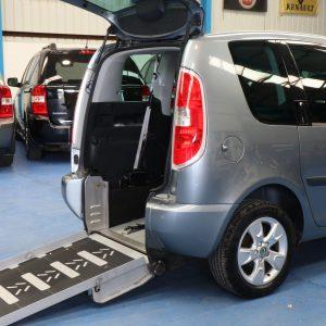 Skoda Romster wheelchair access car