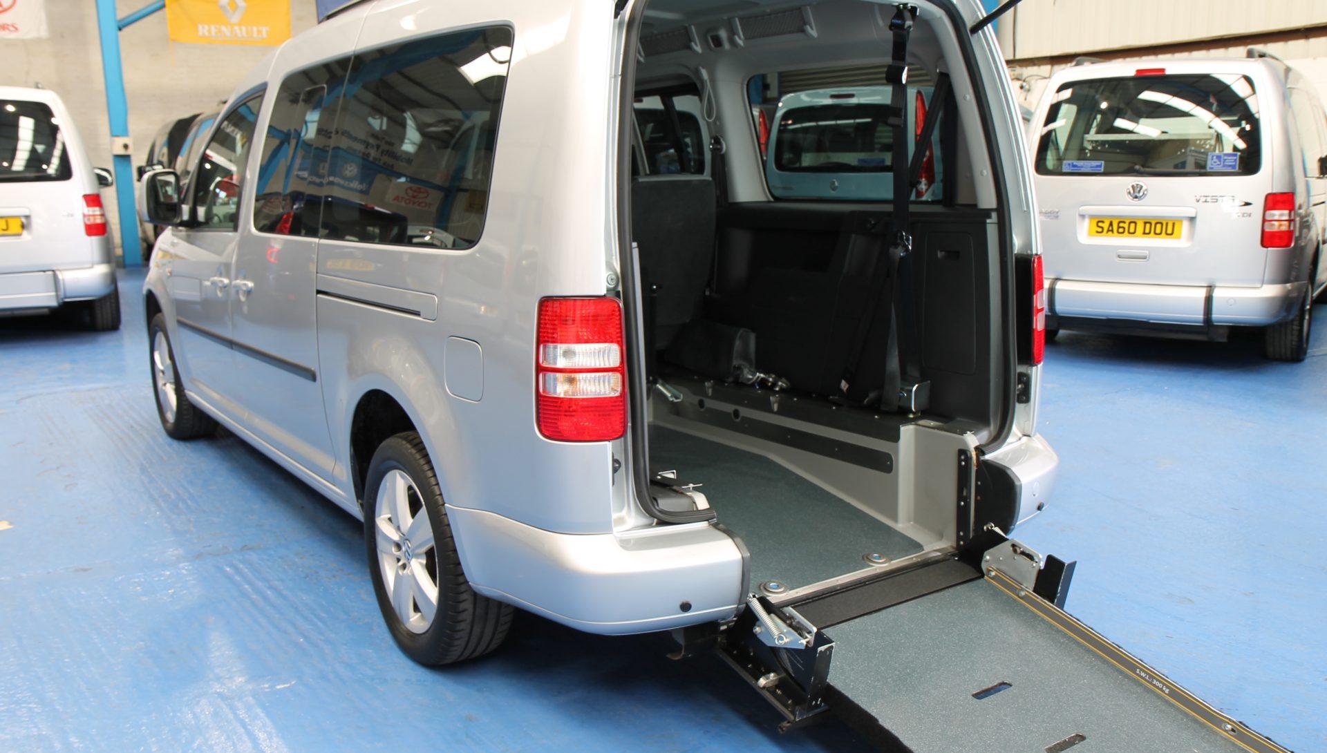 VW Caddy Wheelchair accessible car sj60