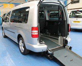 VW Caddy Wheelchair accessible car sj60