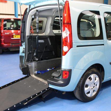 Kangoo Auto Wheelchair vehicles gx12