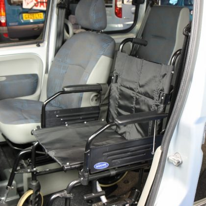 Kangoo Auto Wheelchair upfront