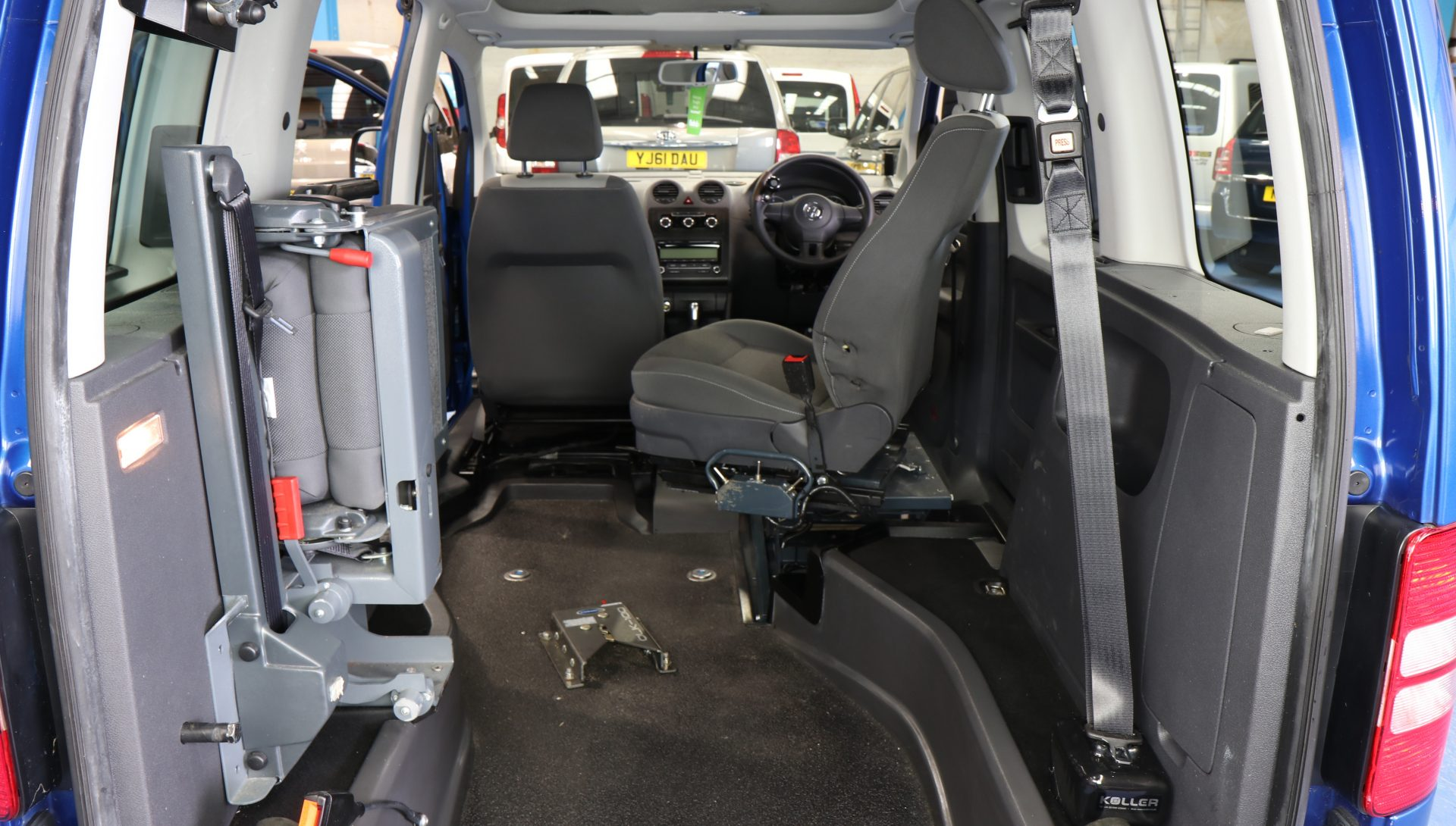 Caddy disabled Transfer to drive car bk11