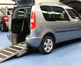Skoda Romster wheelchair accessible