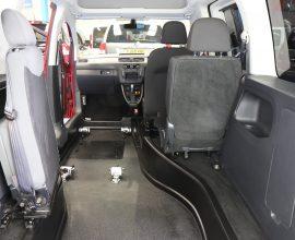 Vw Caddy Auto Wheelchair rides upfront car