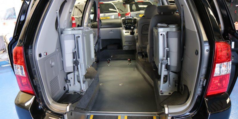 Sedona wheelchair upfront car