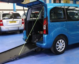 Berlingo Wheelchair access vehicle dxz