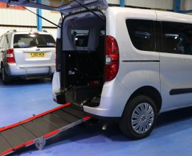 Doblo Wheelchair access car yx61