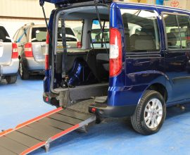Doblo Wheelchair accessible car yx60