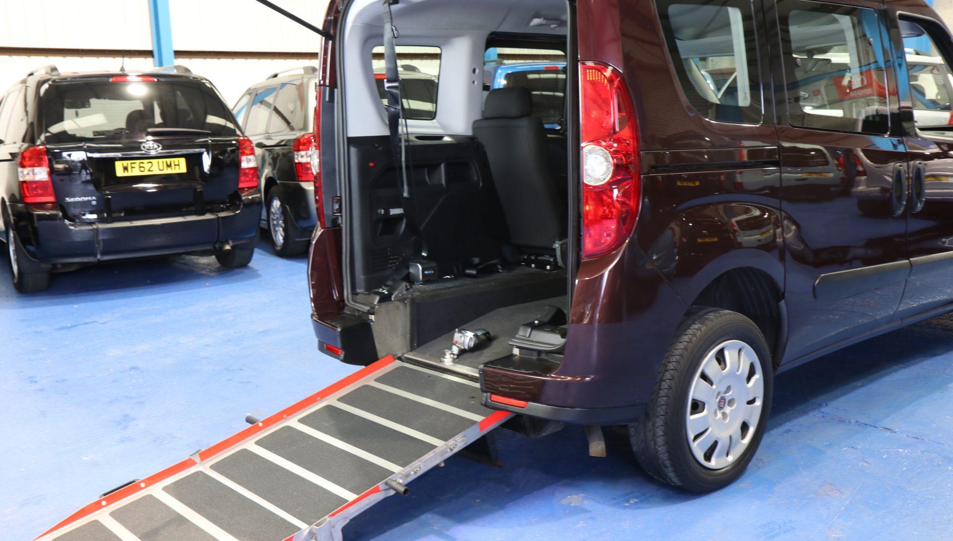 Doblo Wheelchair adapted vx63