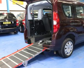 Doblo Wheelchair adapted vx63